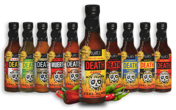 Death Sauce Products
